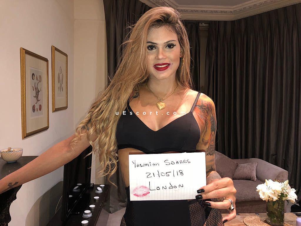 Trans escort Ts Yasmin Soares in London - uEscort